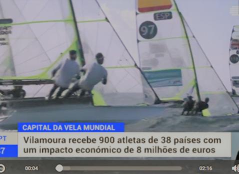 "Vilamoura, the ""capital of world sailing"""